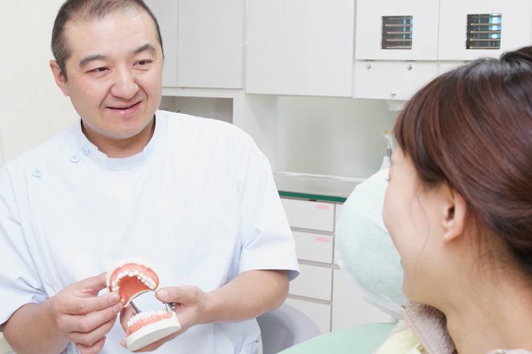 何でも相談できる親しみのある歯医者さん